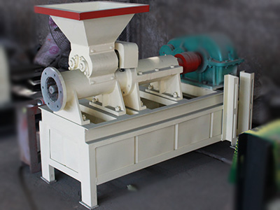 Carbon powder forming machine